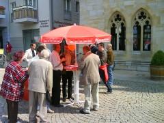 Infostand des SPD-Ortsvereins