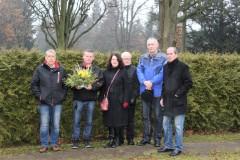 v.l. Bruno Logsch, Michael Kröber,  Jutta Dick, Dr. Joachim Haaf, Jens müller, Wolfgang Purpus